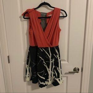 RACHAEL Rachel Roy - Dress (Pink and Black)